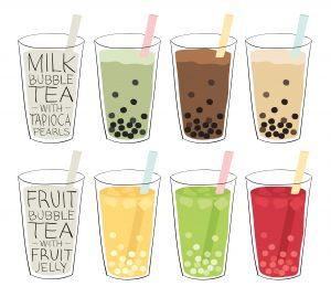 Types de Bubble Tea